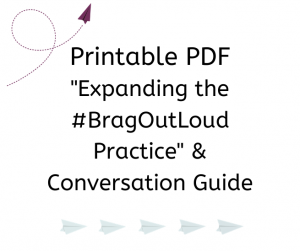 Printable PDF _Quick & Easy #BragOutLoud_